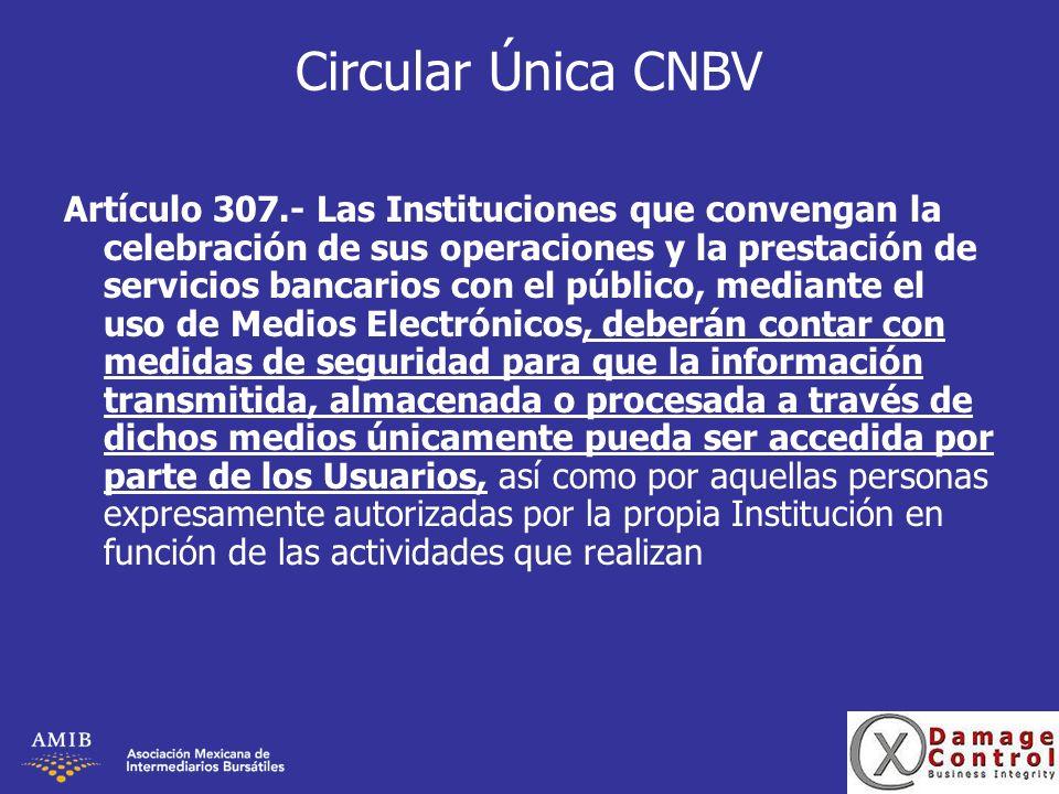 Circular Única CNBV