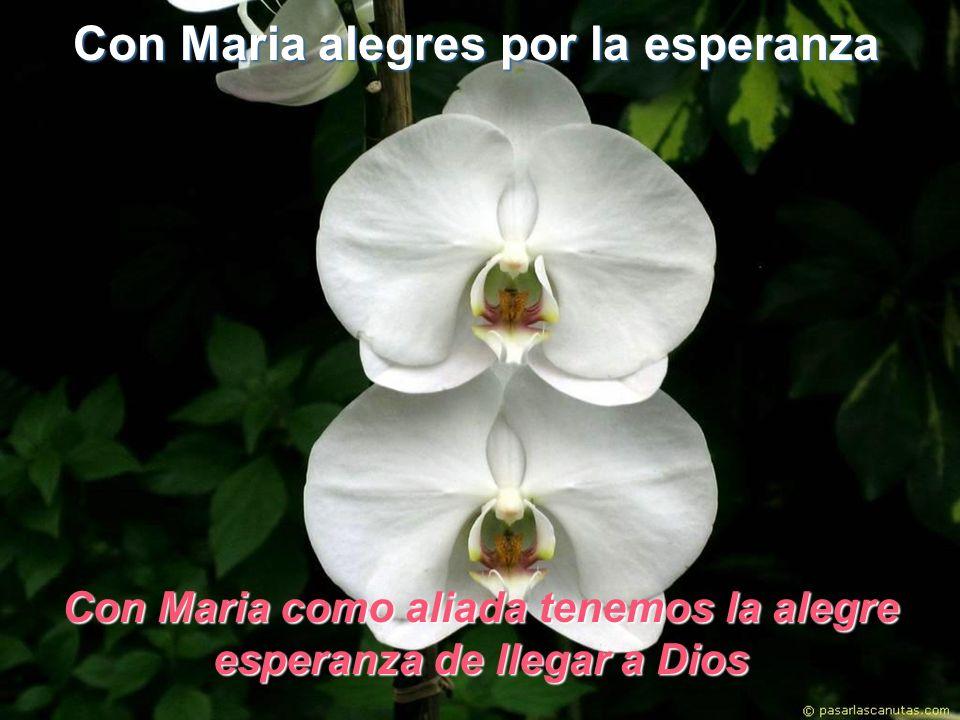 Con Maria alegres por la esperanza