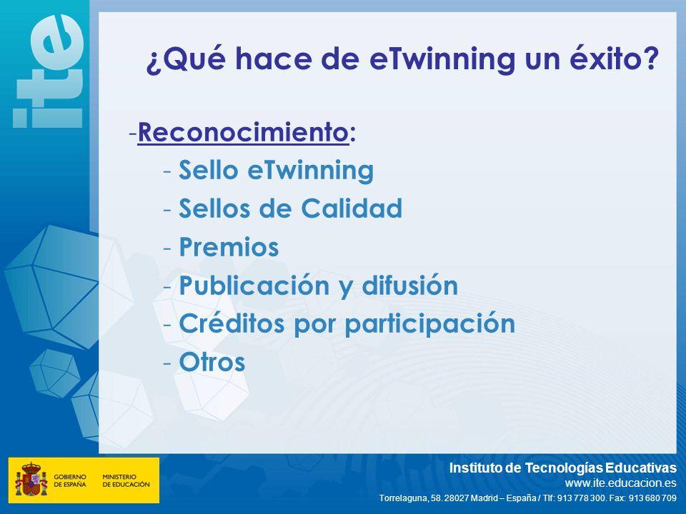 ¿Qué hace de eTwinning un éxito