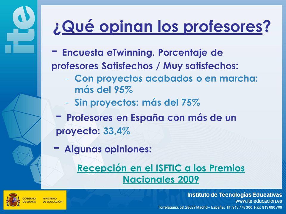Profesores en España con más de un proyecto: 33,4%