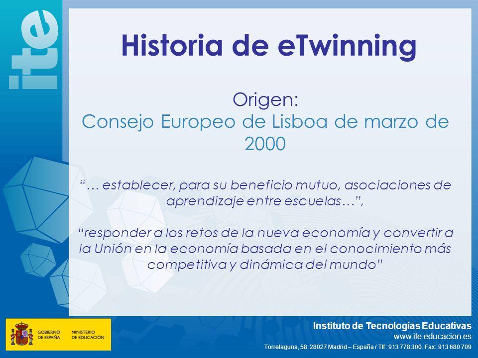 Consejo Europeo de Lisboa de marzo de 2000