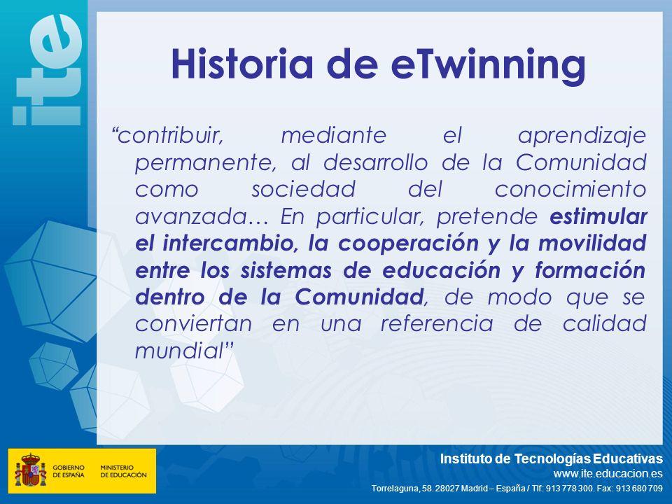 Historia de eTwinning