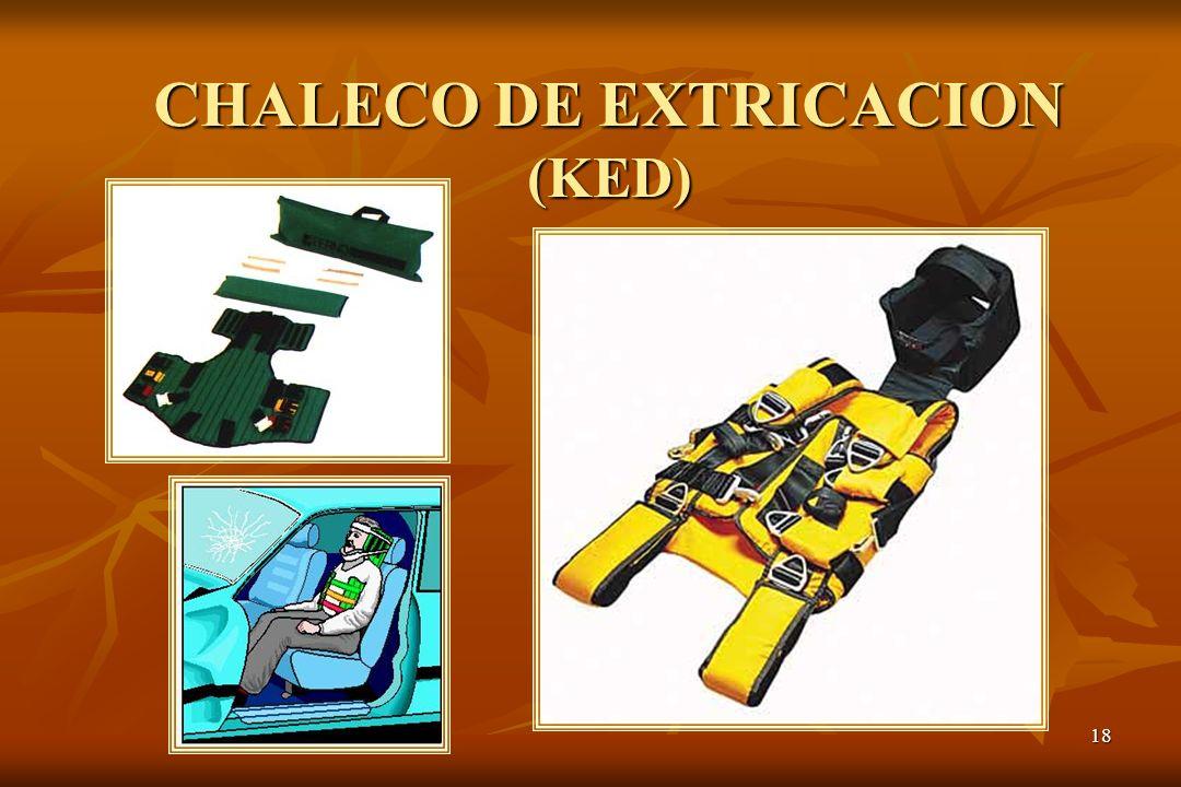 CHALECO DE EXTRICACION (KED)