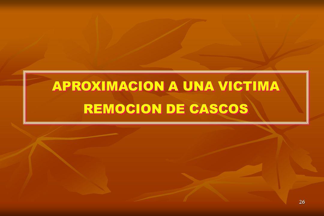 APROXIMACION A UNA VICTIMA
