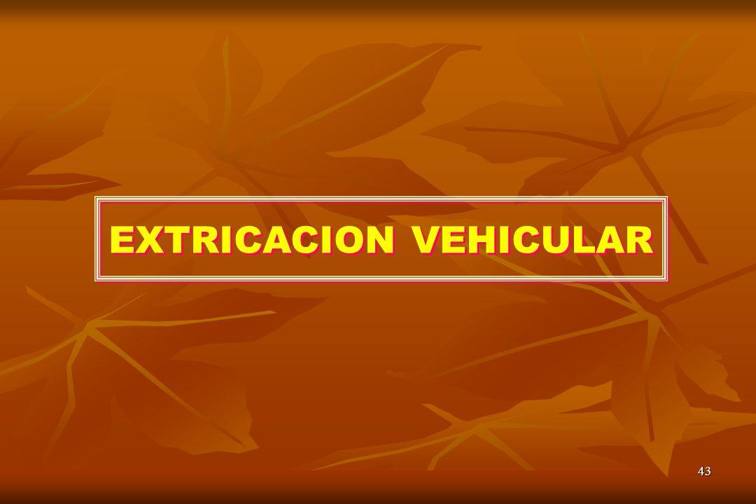 EXTRICACION VEHICULAR