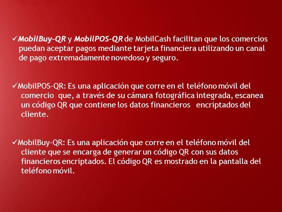 MobilBuy-QR y MobilPOS-QR de MobilCash facilitan que los comercios