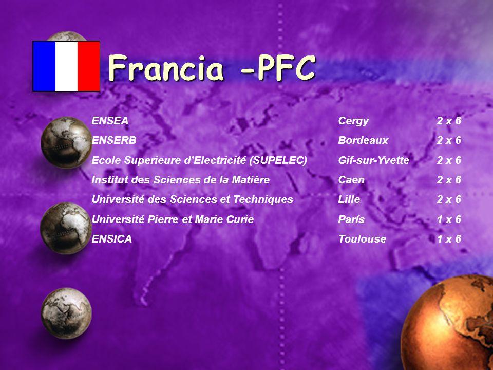 Francia -PFC ENSEA Cergy 2 x 6 ENSERB Bordeaux 2 x 6