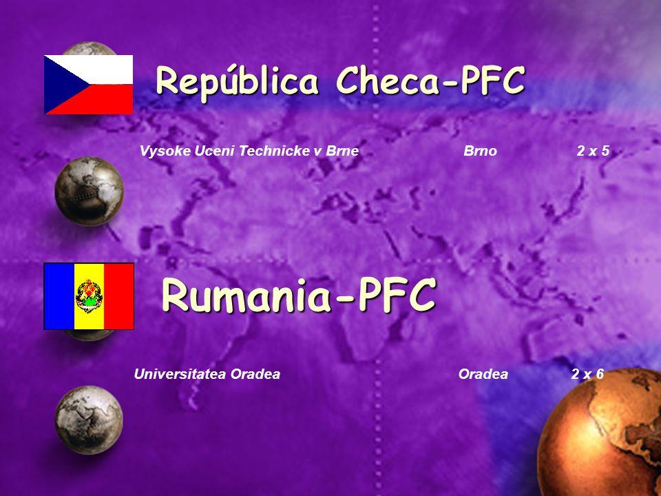 Rumania-PFC República Checa-PFC