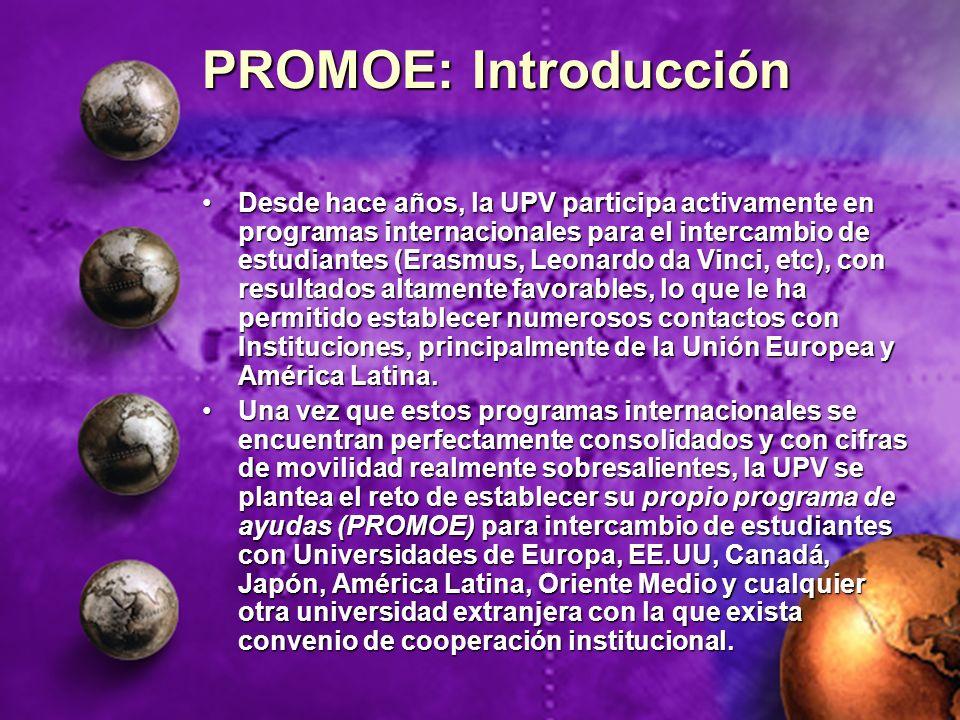 PROMOE: Introducción