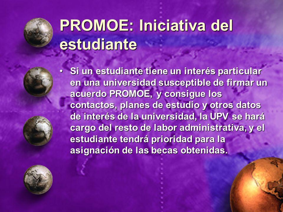 PROMOE: Iniciativa del estudiante