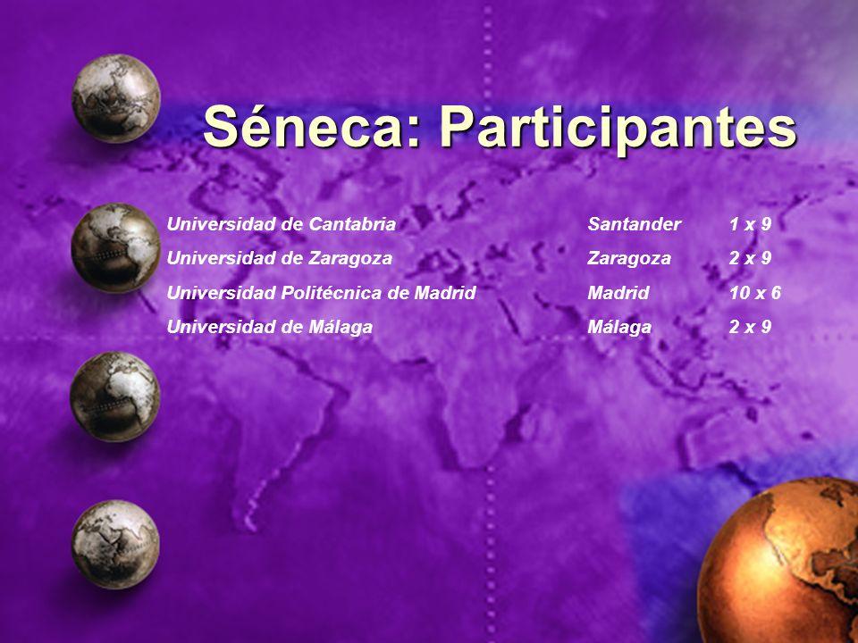 Séneca: Participantes
