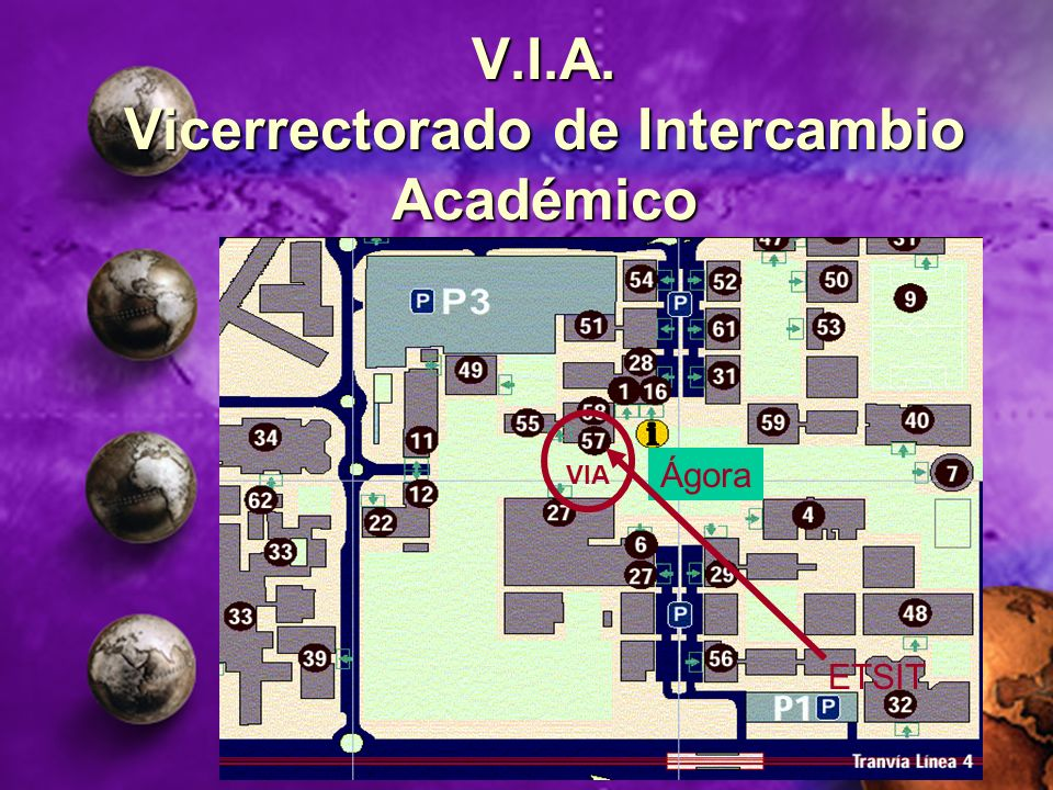 V.I.A. Vicerrectorado de Intercambio Académico