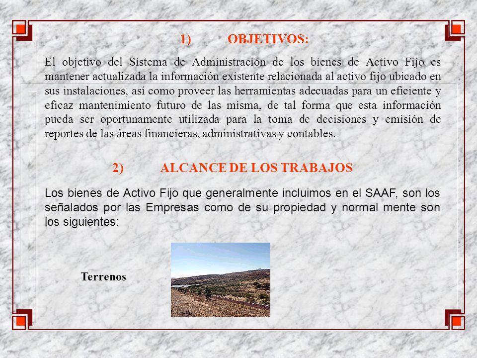 2) ALCANCE DE LOS TRABAJOS