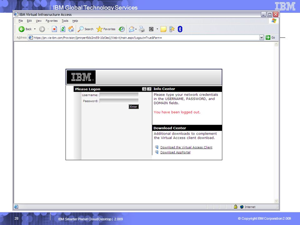 IBM Smarter Planet Cloud Desktop | 2.009