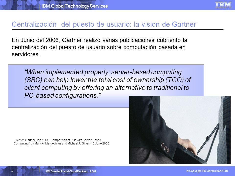 Centralización del puesto de usuario: la vision de Gartner