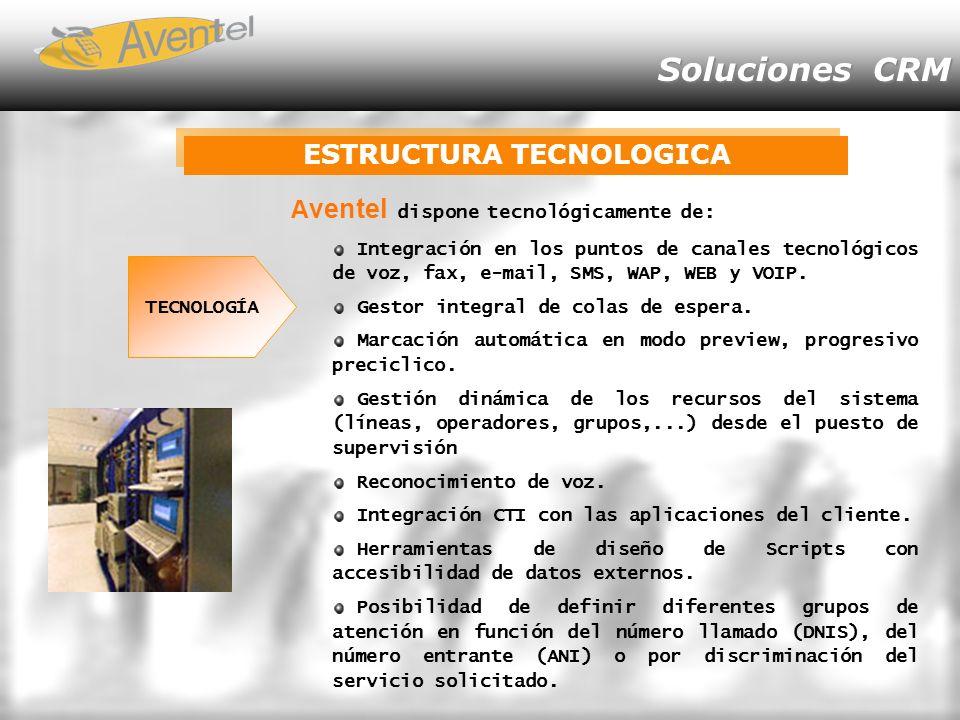 ESTRUCTURA TECNOLOGICA