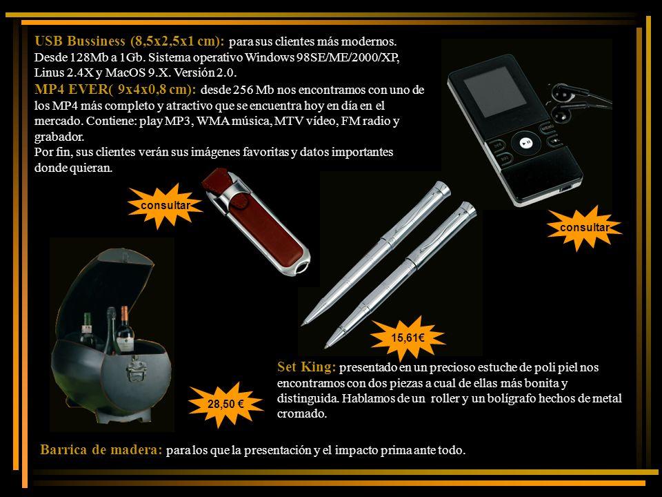 USB Bussiness (8,5x2,5x1 cm): para sus clientes más modernos