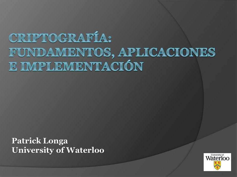 Criptografía: Fundamentos, aplicaciones e implementación
