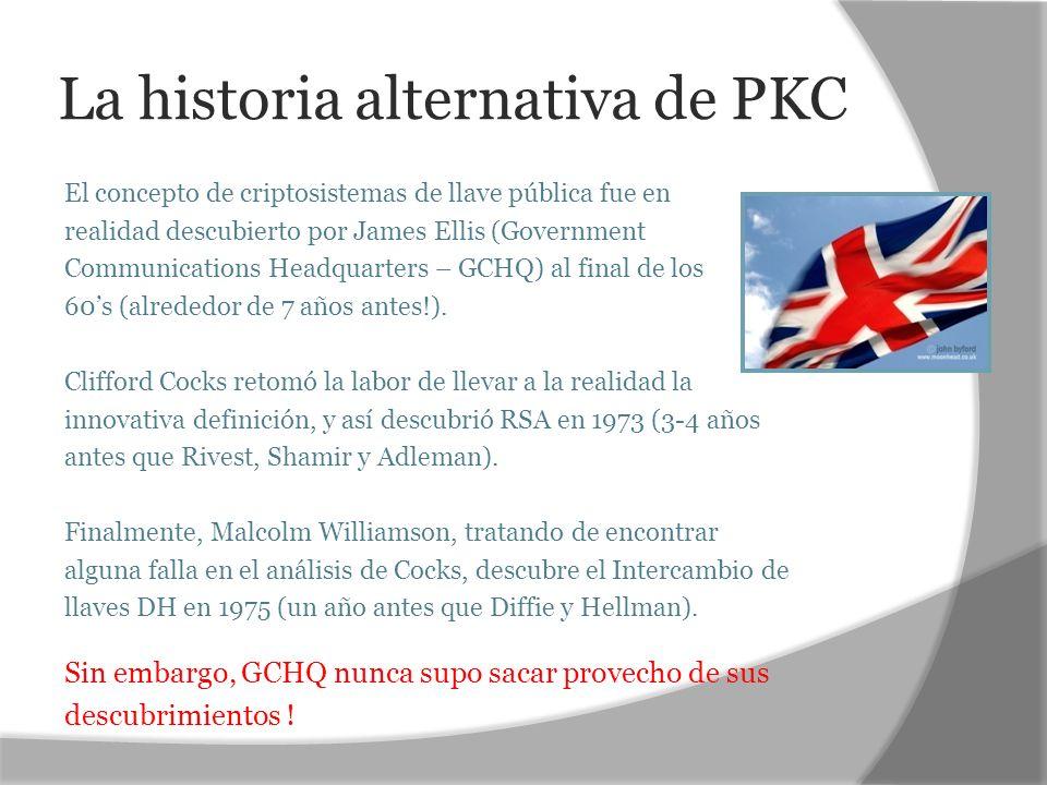 La historia alternativa de PKC