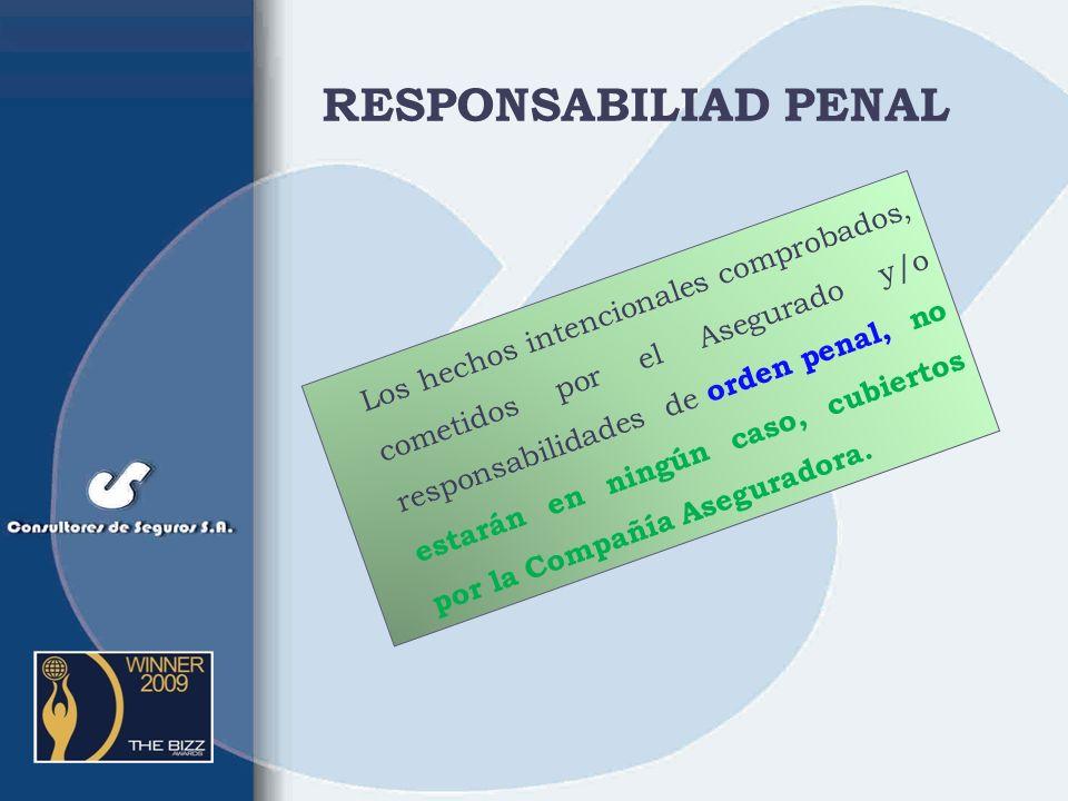 RESPONSABILIAD PENAL