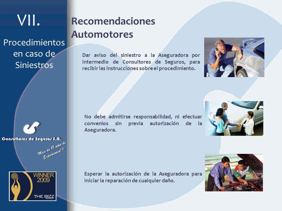 Recomendaciones Automotores