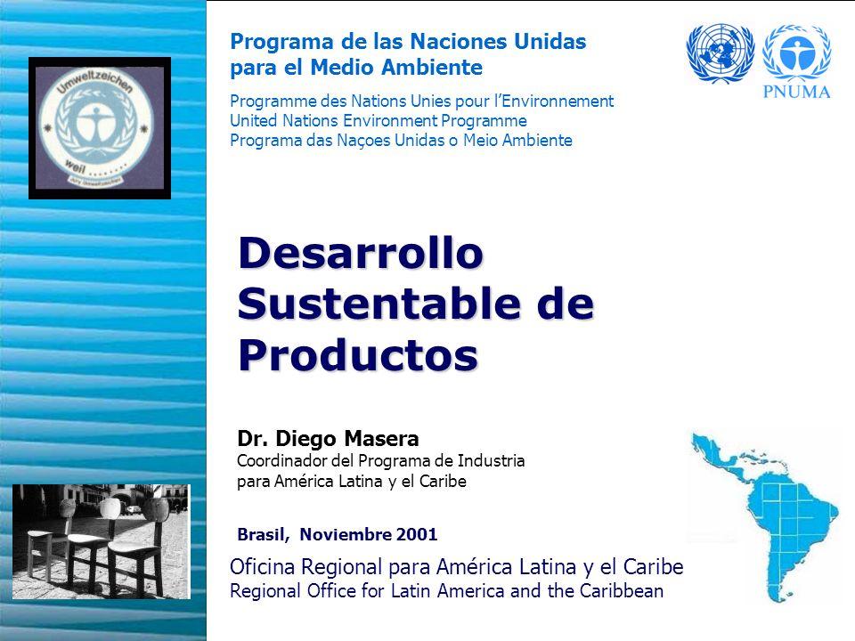 Desarrollo Sustentable de Productos