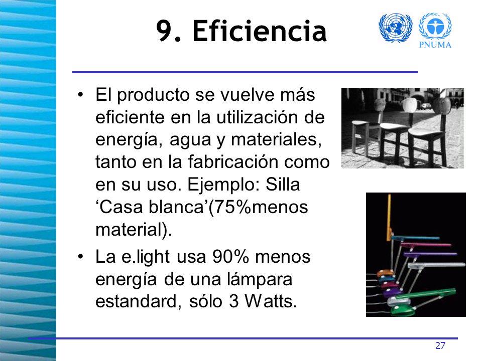9. Eficiencia