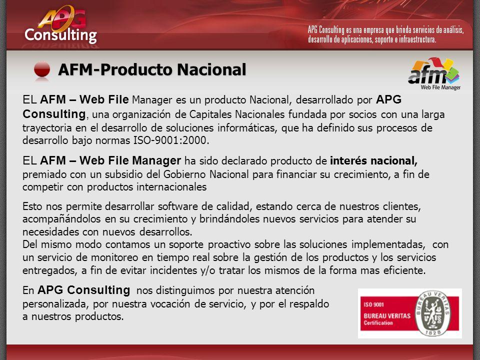 AFM-Producto Nacional