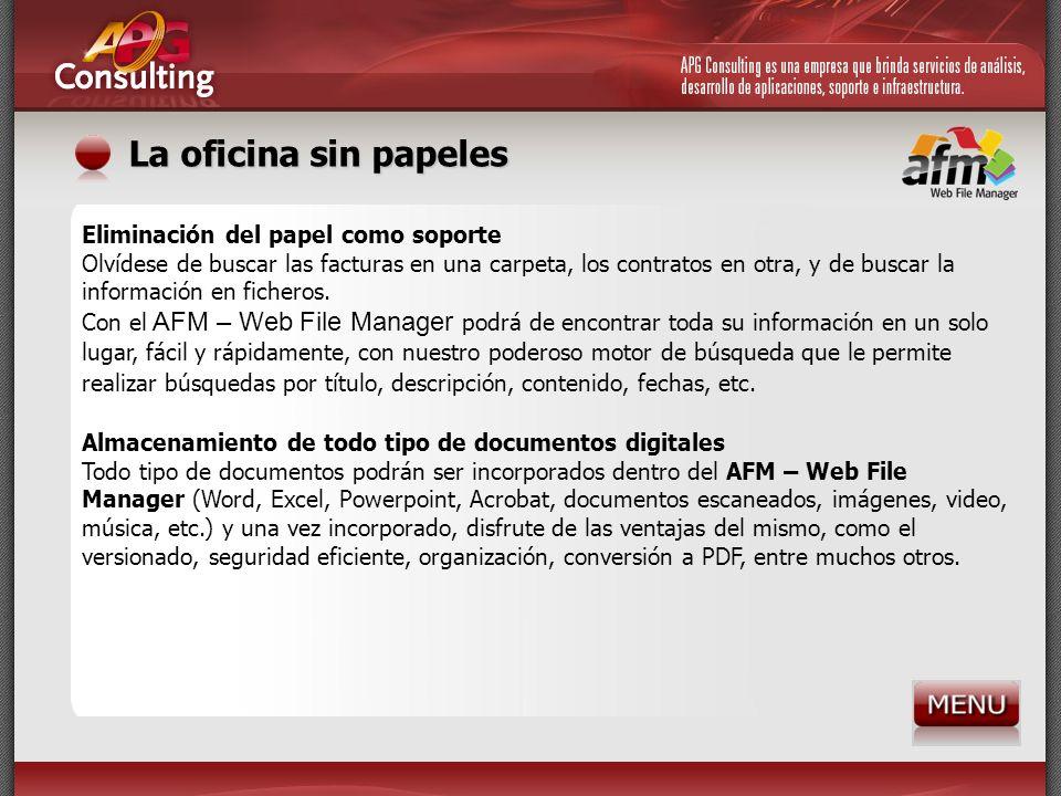 La oficina sin papeles Eliminación del papel como soporte