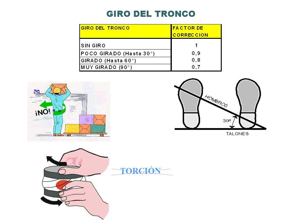 GIRO DEL TRONCO TORCIÓN