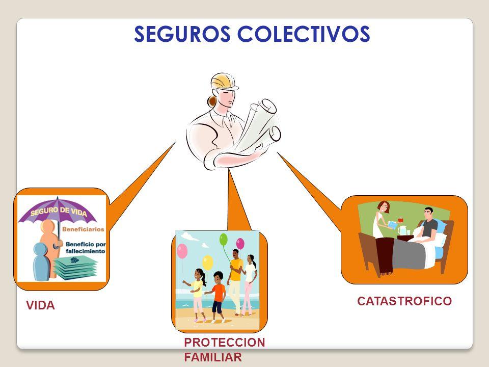 SEGUROS COLECTIVOS CATASTROFICO VIDA PROTECCION FAMILIAR
