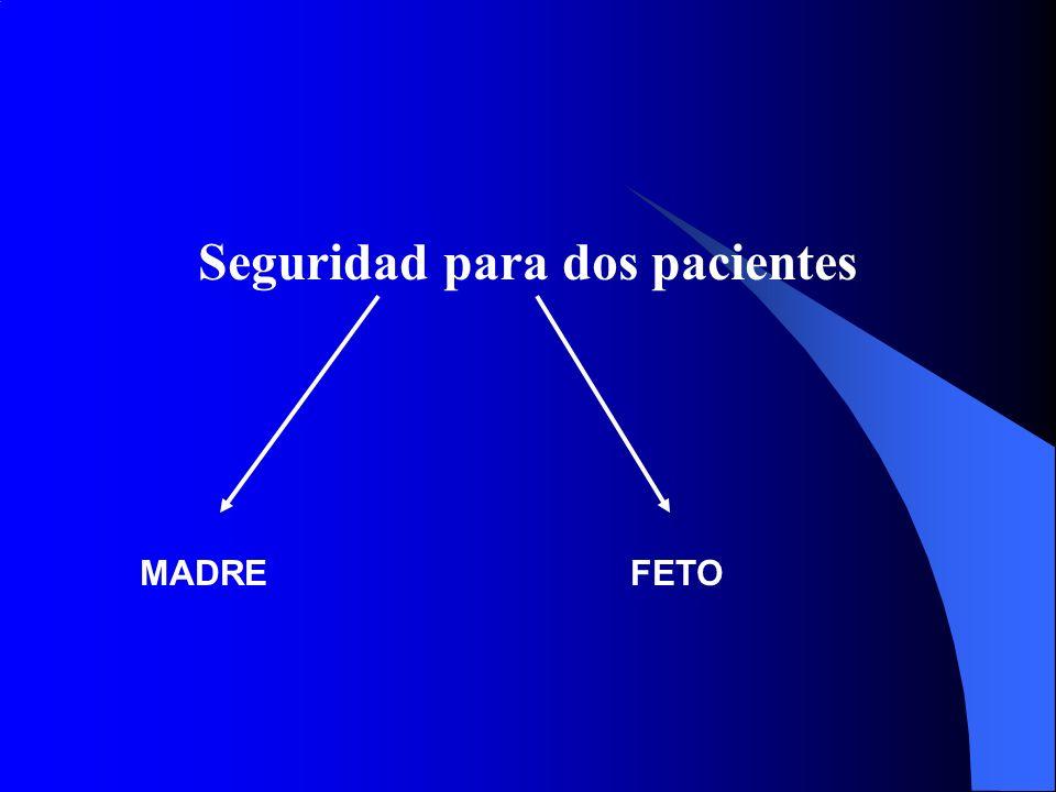 Seguridad para dos pacientes
