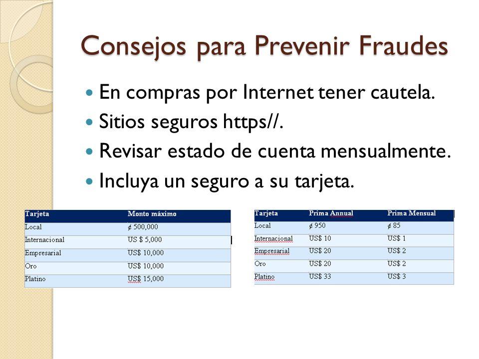 Consejos para Prevenir Fraudes