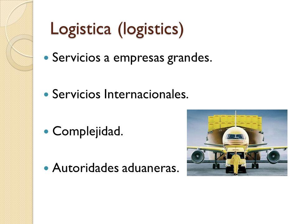 Logistica (logistics)