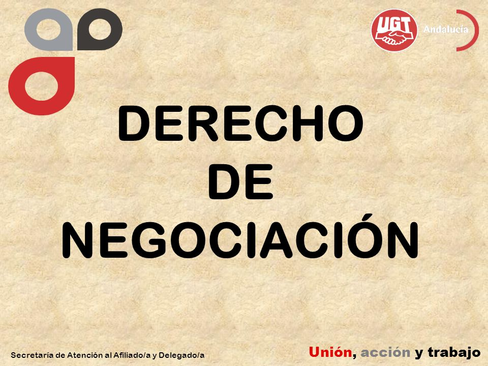 DERECHO DE NEGOCIACIÓN