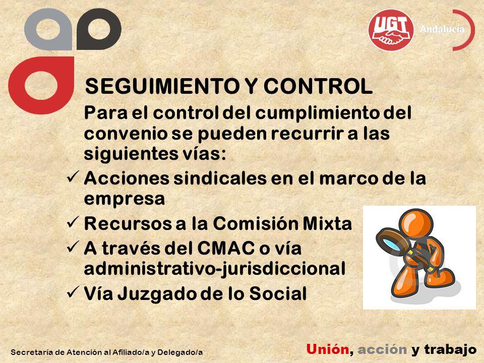 Acciones sindicales en el marco de la empresa