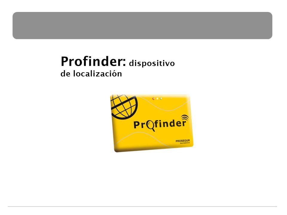 Profinder: dispositivo de localización