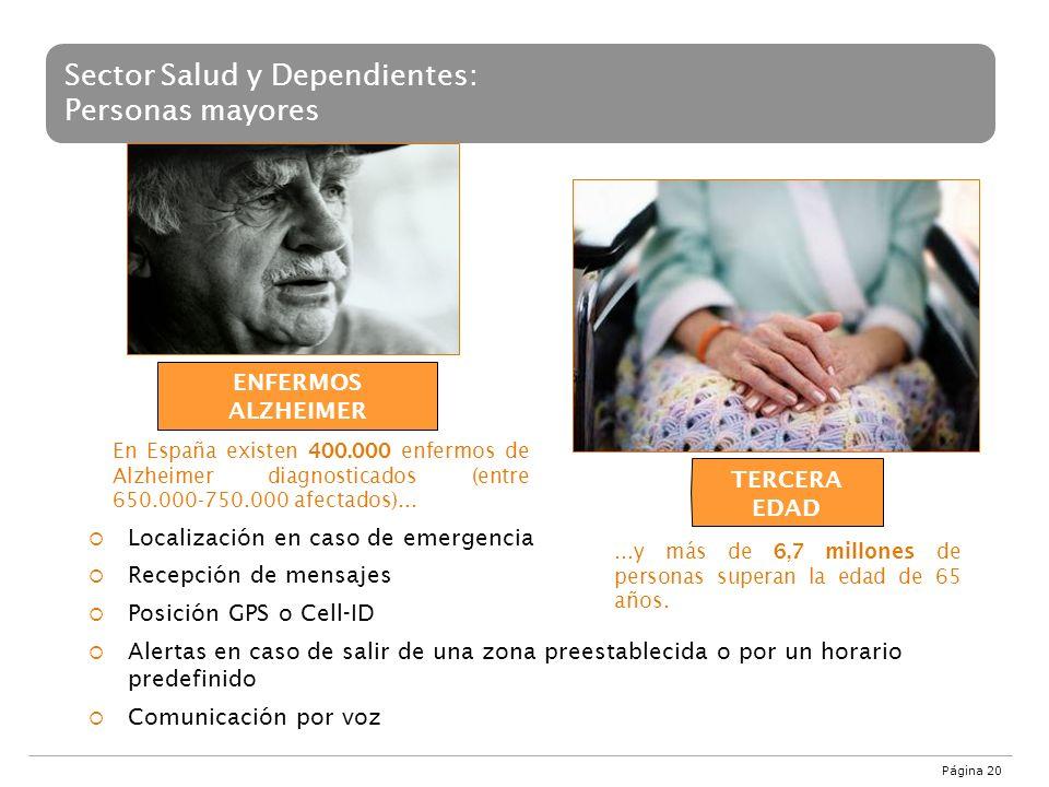 Sector Salud y Dependientes: Personas mayores
