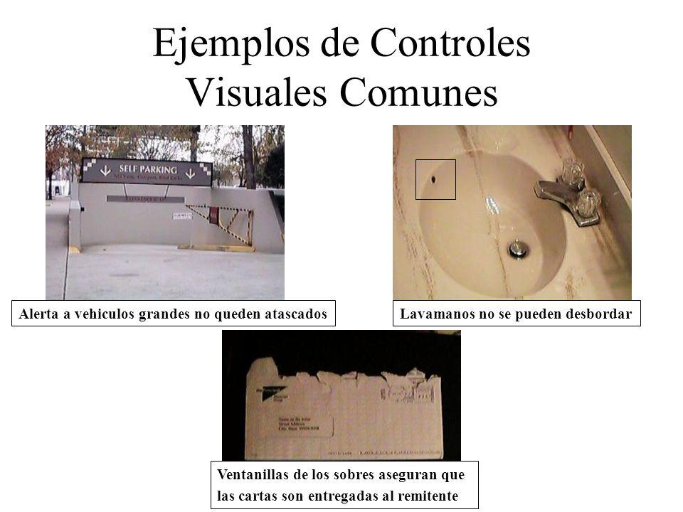 Ejemplos de Controles Visuales Comunes