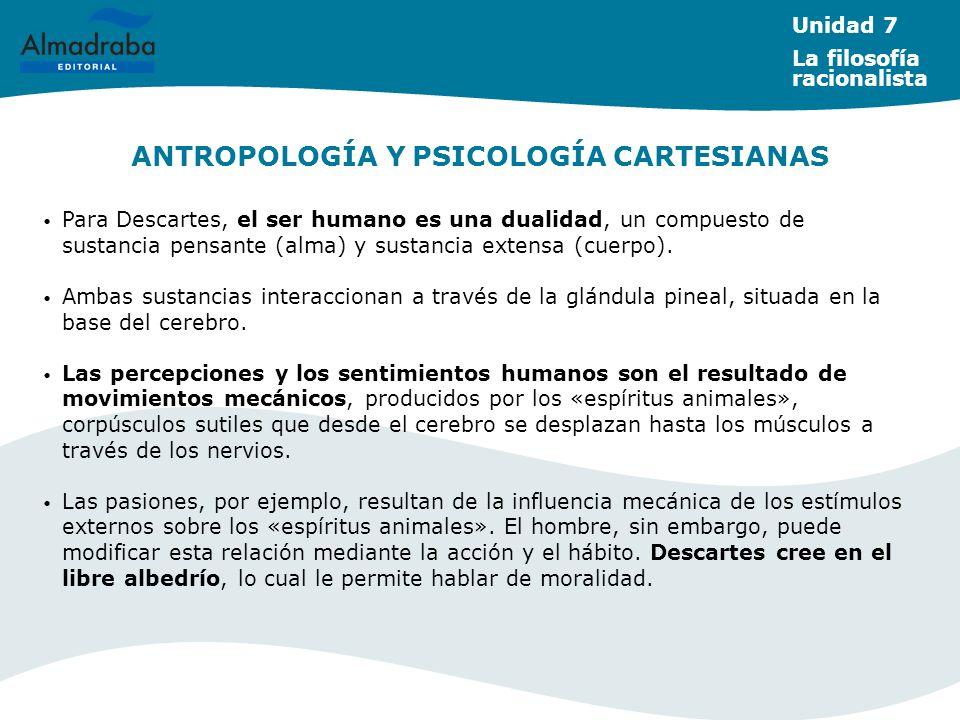ANTROPOLOGÍA Y PSICOLOGÍA CARTESIANAS