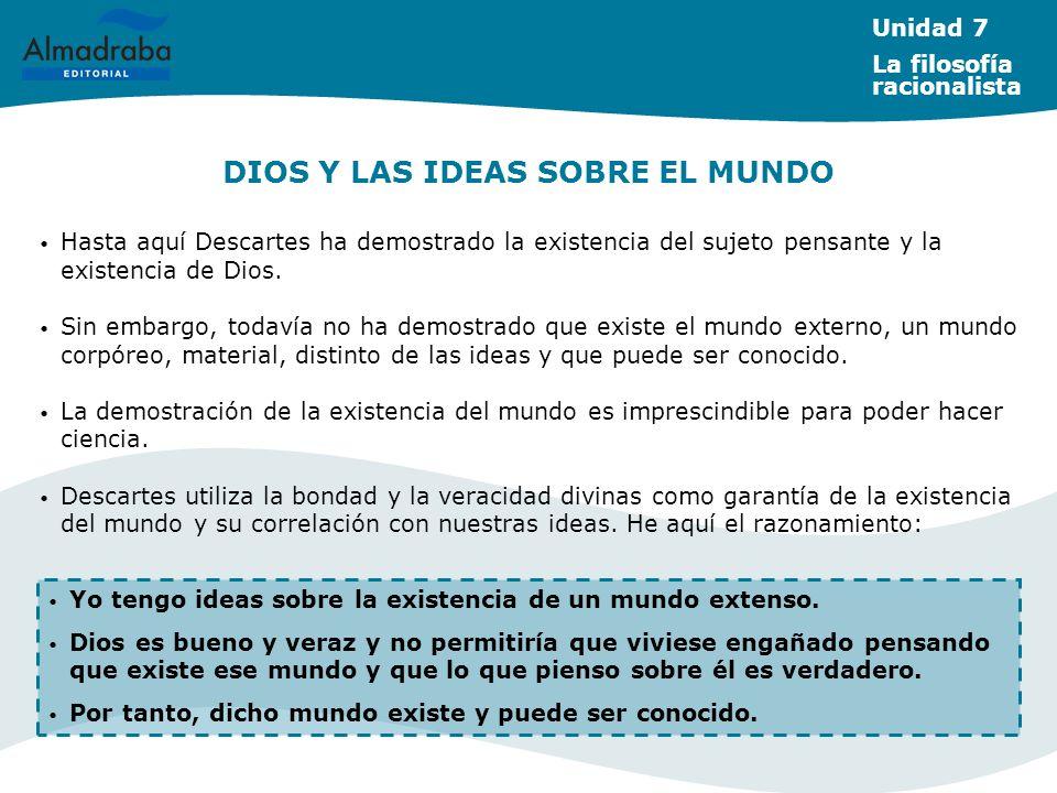 DIOS Y LAS IDEAS SOBRE EL MUNDO