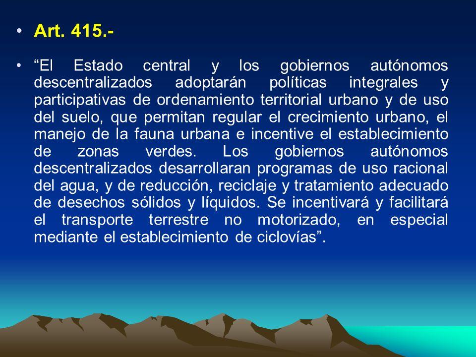 Art. 415.-