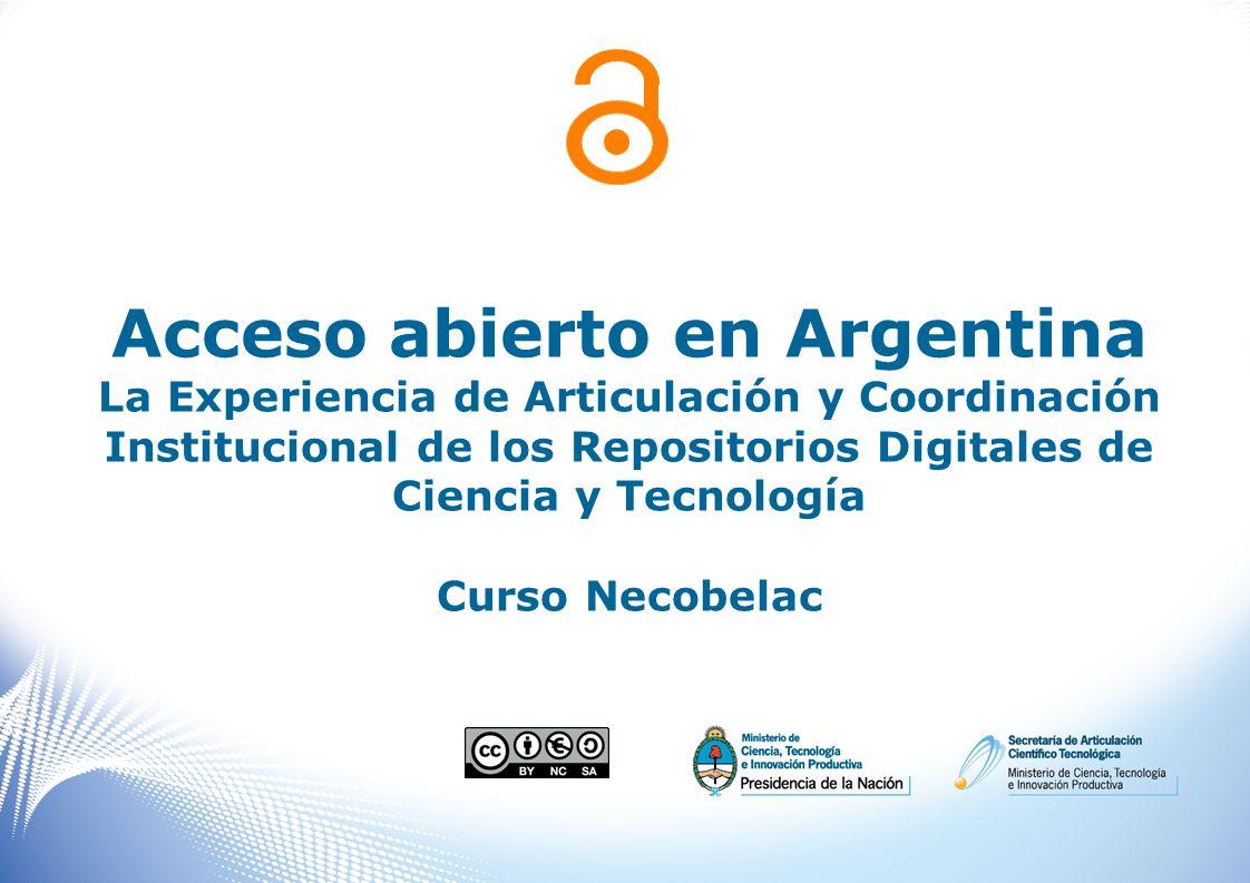 Acceso abierto en Argentina