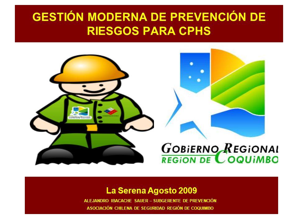 GESTIÓN MODERNA DE PREVENCIÓN DE RIESGOS PARA CPHS