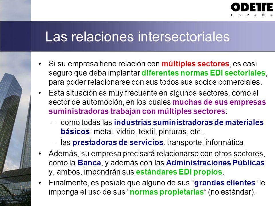 Las relaciones intersectoriales