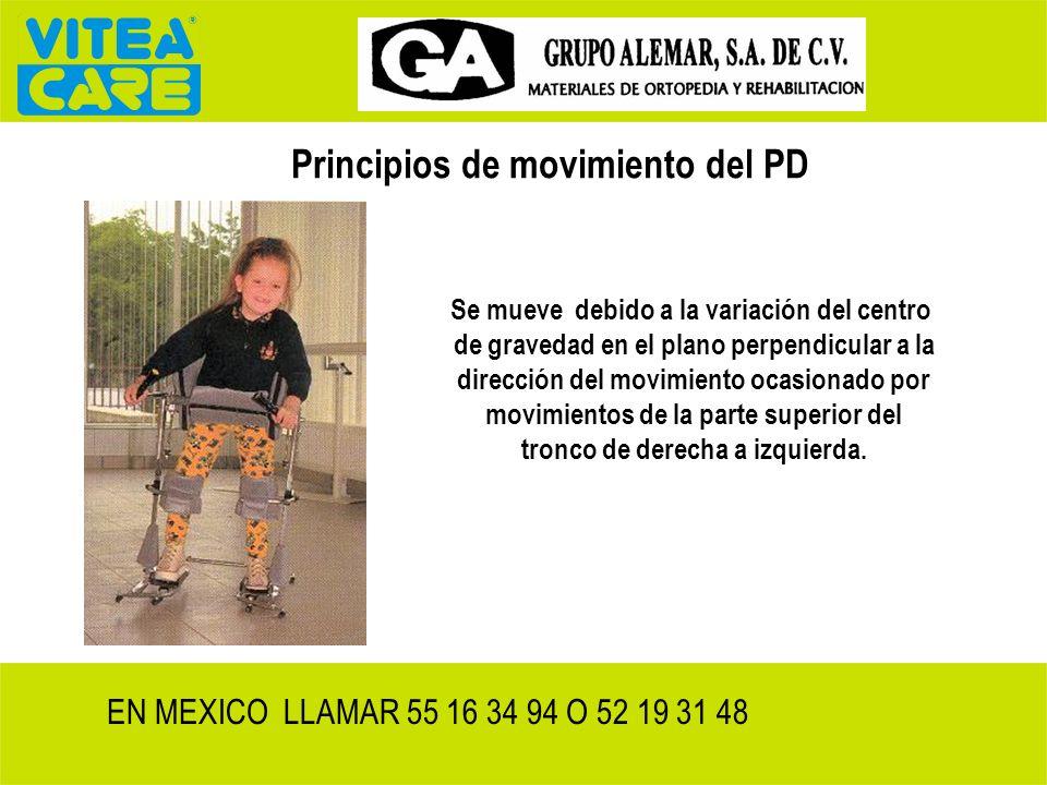 Principios de movimiento del PD