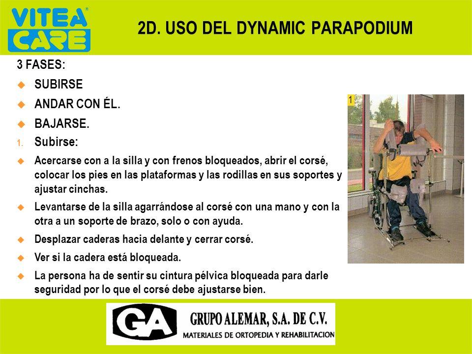 2D. USO DEL DYNAMIC PARAPODIUM