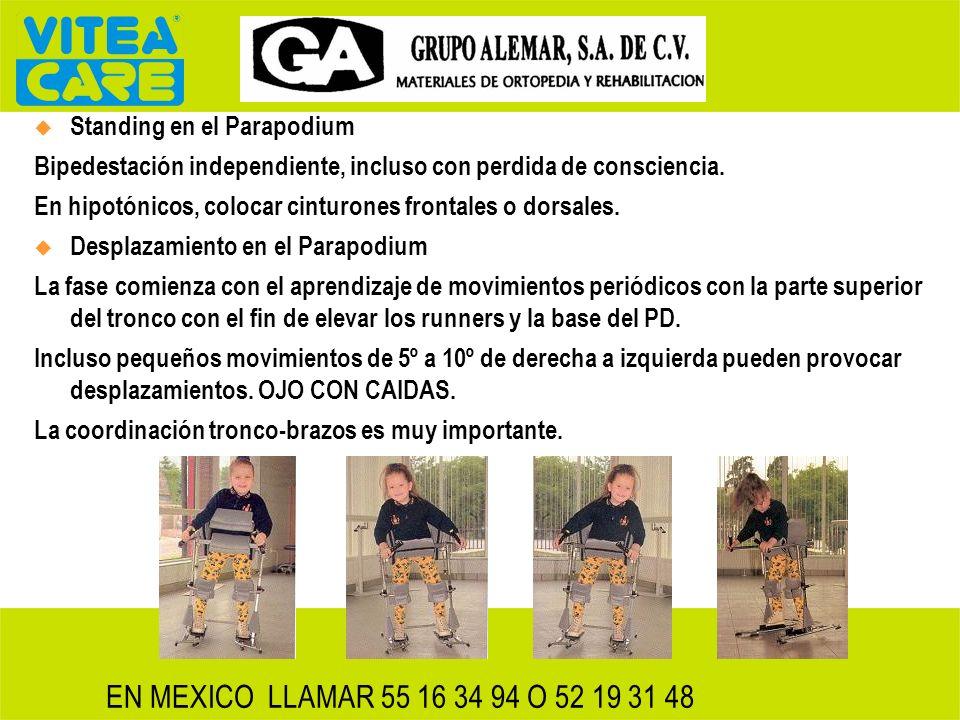 EN MEXICO LLAMAR 55 16 34 94 O 52 19 31 48 Standing en el Parapodium