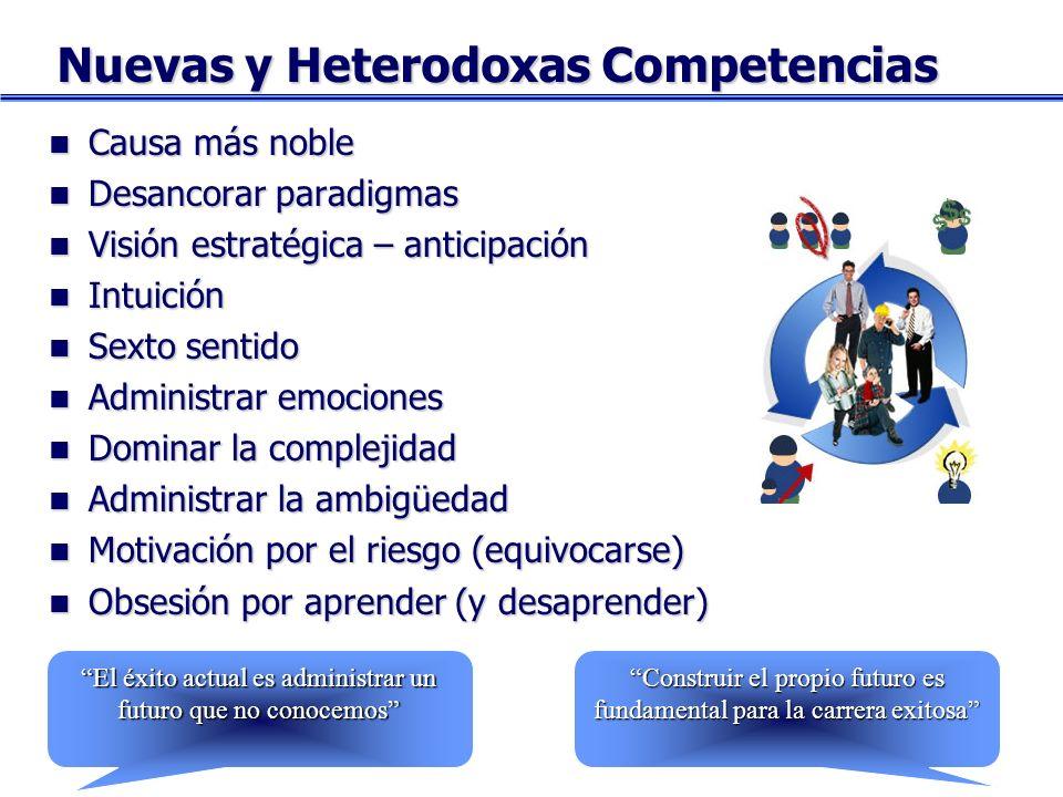 Nuevas y Heterodoxas Competencias