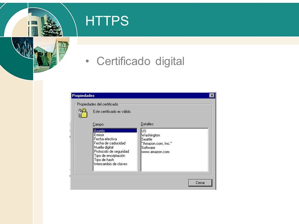 HTTPS Certificado digital